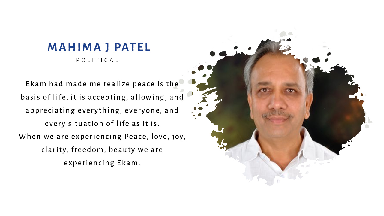 Mahima J Patel