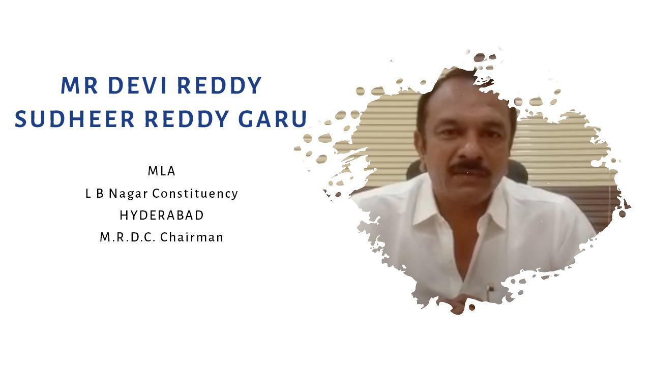Mr Devi Reddy Sudheer Reddy Garu