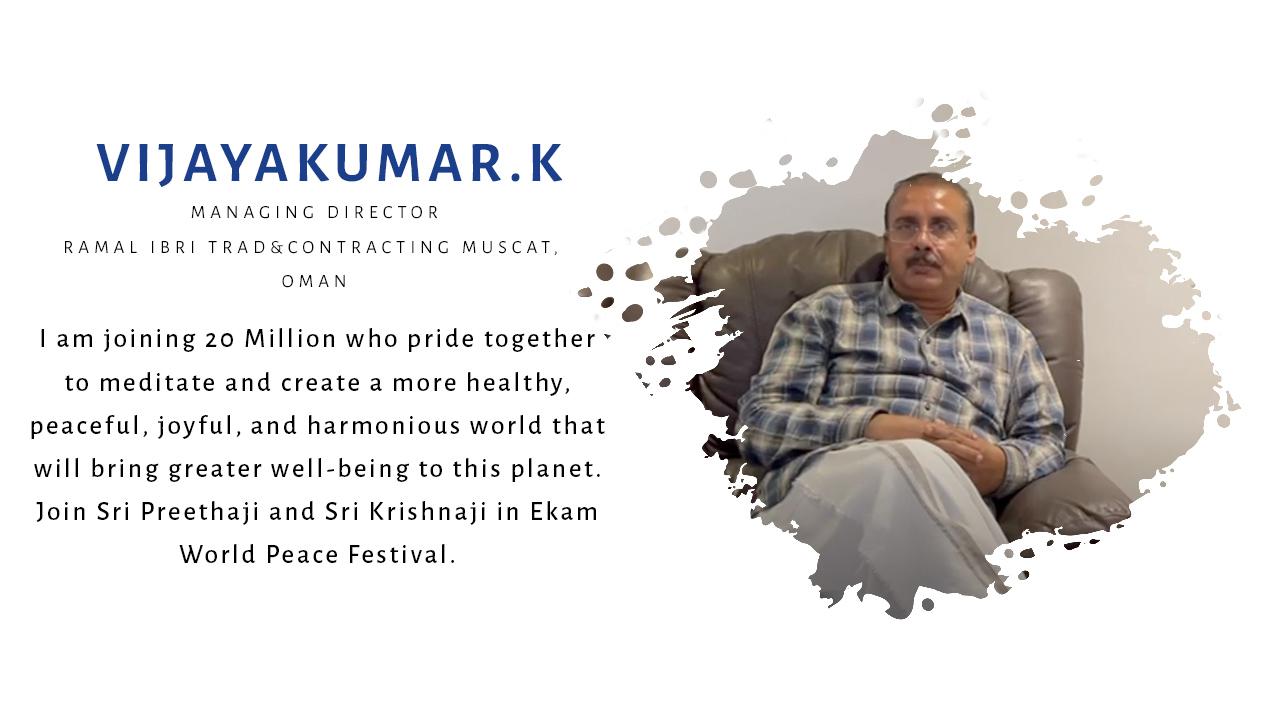 K Vijaykumar
