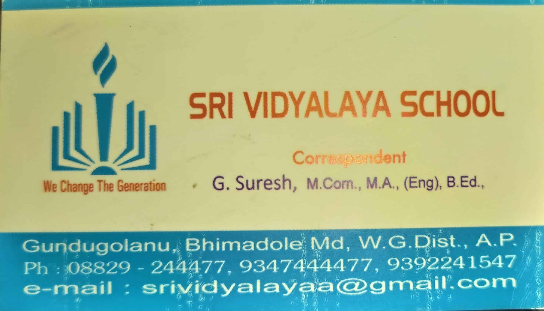 sri vidhyalaya